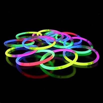 Neon Pulseras Luminosas Tricolor Pulseiras Glow Dark