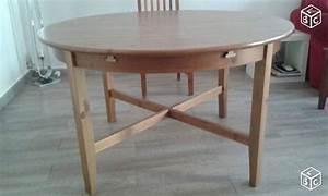 Table Ronde Ikea : meubles en pin occasion saint gilles 30 annonces ~ Melissatoandfro.com Idées de Décoration