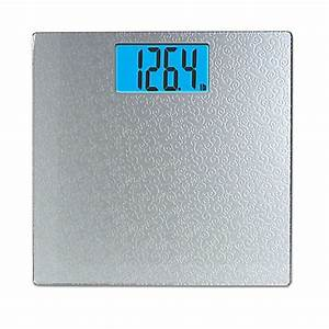 taylor digital bathroom scale with scroll design in silver With bathroom scales at bed bath and beyond