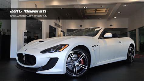 Maserati Auto Gallery by On The Lot 2016 Maserati Granturismo Convertible Mc For
