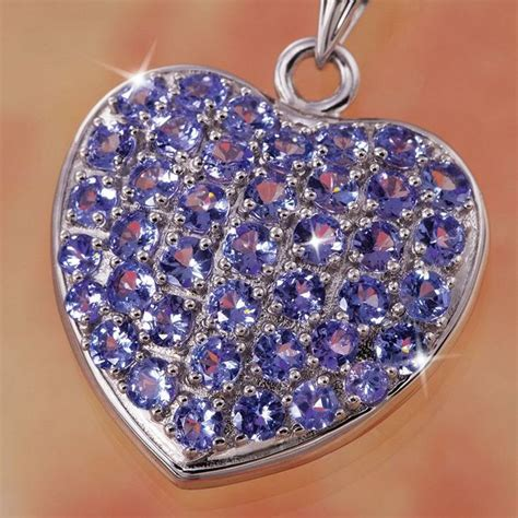 Rare Love Tanzanite Necklace 25527