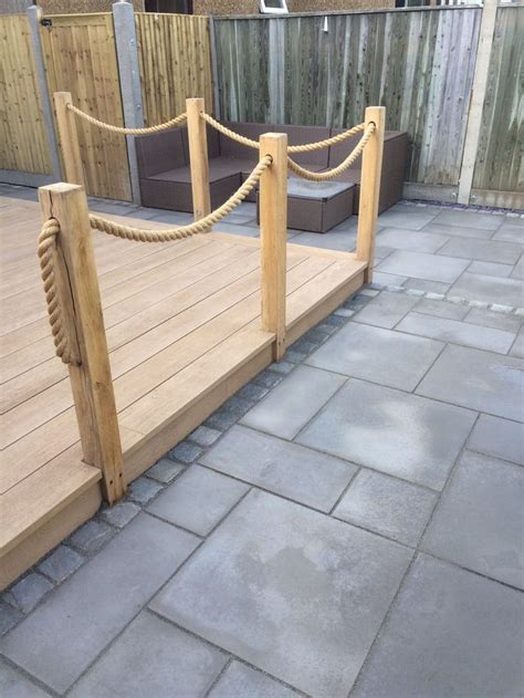 Decking With Rope Ideas