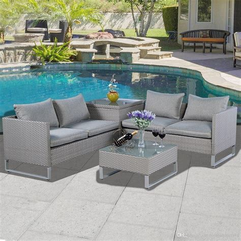 All Weather Garden Furniture Sets by 2019 All Weather Outdoor Furniture Garden Furniture Sofa