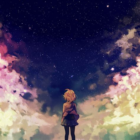Space Anime Wallpaper - wallpapers