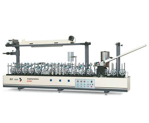 china woodworking machinery wood pvc veneer profile wrapping machine china profile wrapping
