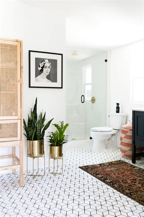 Modern White Bathroom Floor Tile by Johnson S Small Bathroom Floor Fireclay Tile