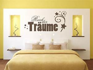 Bilder Für Schlafzimmer Wand : wandtattoo schlafzimmer reich der tr ume nr 1 wandtattoo ~ Sanjose-hotels-ca.com Haus und Dekorationen
