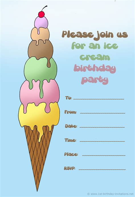 a birthday invitation 14 printable birthday invitations many fun themes 1st