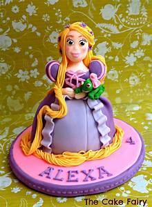 Rapunzel Cake Topper - CakeCentral com