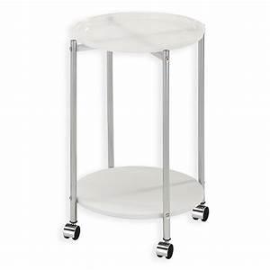 Beistelltisch Metall Weiß : beistelltisch rolli wei metall rollbar beistelltische wohnzimmer wohnbereiche ~ Whattoseeinmadrid.com Haus und Dekorationen