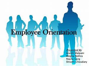 employee orientation ppt final With new employee orientation powerpoint template