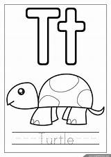 Coloring Alphabet Pages Letters Turtle Englishforkidz Letter Worksheets English Abc Queen Rabbit sketch template