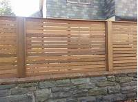 horizontal wood fence Custom Wooden Fencing in The Philadelphia Area | Everlasting Fence Company | www ...