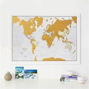 Carte Du Monde à Gratter Maison Du Monde : les plus belles cartes du monde gratter floril ge ~ Teatrodelosmanantiales.com Idées de Décoration