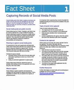 32 fact sheet templates in pdf free premium templates With health fact sheet template