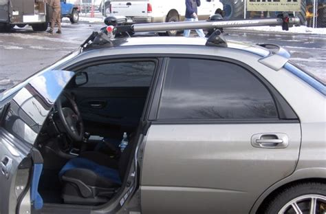 Subaru Snowboard Rack by Subaru Impreza 4dr Rack Installation Photos