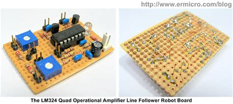 Amp Line Follower Robot With Pwm Motor Control