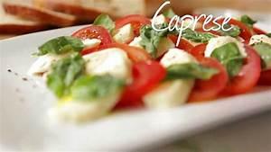 Tomate Mozzarella Rezept : rezept insalata caprese tomate mozzarella selber machen ~ Lizthompson.info Haus und Dekorationen