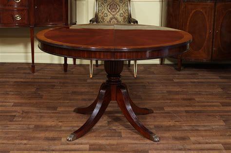 mahogany dining tables mahogany dining table with leaf four leg reeded 3953