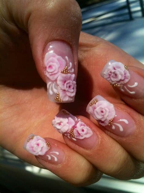 unghie con fiori unghie con fiori disegnati ul56 187 regardsdefemmes