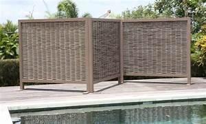 sichtschutz fur terrassen 13 ideen fur ihre privatsphare With französischer balkon mit pool im garten einbauen