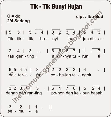 not angka lagu indonesia pusaka kumpulan not angka lagu anak anak