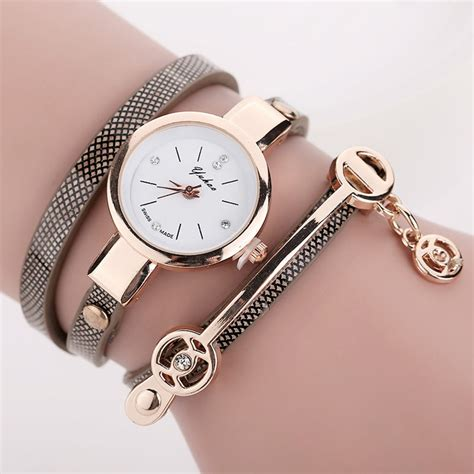 New Women Long Leather Bracelet Watches Gold Fashion. Rugged Watches. 18th Century Engagement Rings. Gold Single Bangle Designs. Fine Gold Jewelry. Antique Stud Earrings. Thin Bangle Bracelets. Titanium Platinum. Birthstone Anklet
