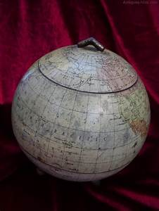 Antiques Atlas - Rare Antique Huntley & Palmers Globe ...