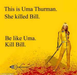 Kill Bill Meme - backlash against bill the stick man who tells people how