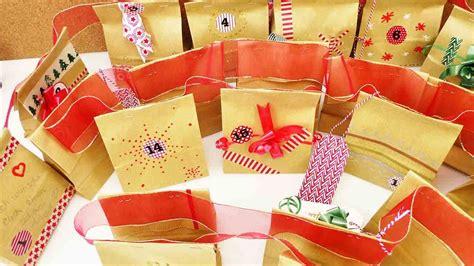 adventskalender für freund selber machen adventskalender selber machen mit effektschleifen und stiften tchibo
