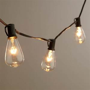 inspired by the vintage light bulbs invented by thomas With outdoor string lights no bugs