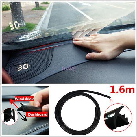 1.6m Car Windshield Dashboard Sealing Strip Noise