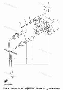 Yamaha Motorcycle 2000 Oem Parts Diagram For Taillight