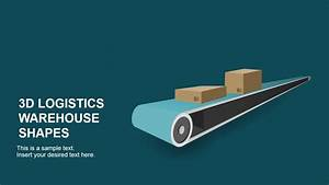 3D Logistics Warehouse PowerPoint Shapes - SlideModel