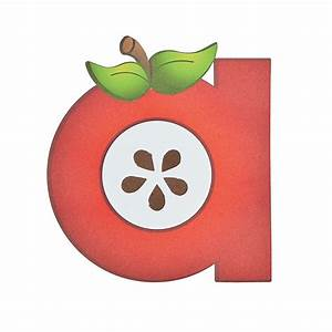 """A Is For Apple"" Lowercase Letter A Craft Kit - Oriental"