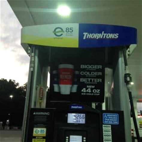 thorntons gas stations   hwy  island lake