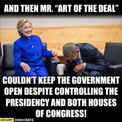 Political Memes 2018 - the 40 funniest trump shutdown memes the political punchline