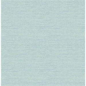 Chesapeake 56.4 sq. ft. Agave Teal Grasscloth Wallpaper ...