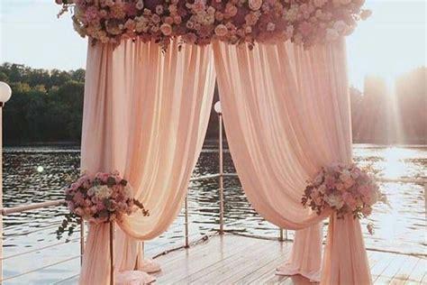 trendy dusty rose wedding color ideas   puff