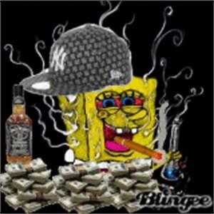 spongebob gangster Pictures [p. 3 of 13] | Blingee.com