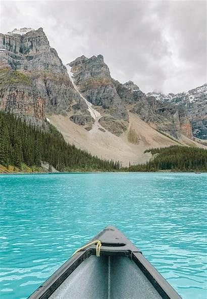 Alberta Places Canada Lake Handluggageonly Travel Moraine