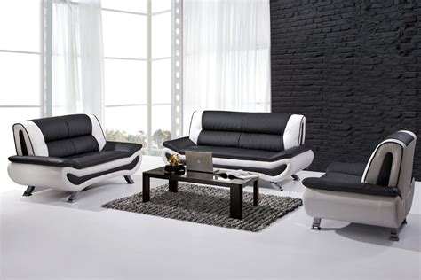 black and white leather sofa set black and white leather sofa set home furniture design
