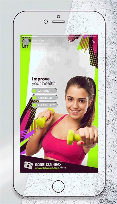 Instagram Fitness Private Animated Stories Programs 2048