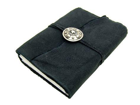 Lederbuch Noir Schild Silver Tagebuch Notizbuch   XXL