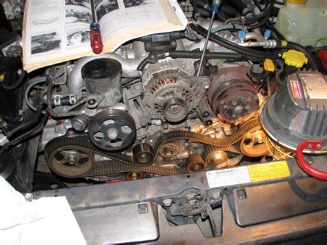 Subaru Legacy Timing Belt by Service Manual Installing A 2009 Subaru Legacy Timing