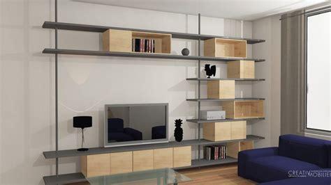 bureau de salon création de bibliothèques bureaux meubles salon sur