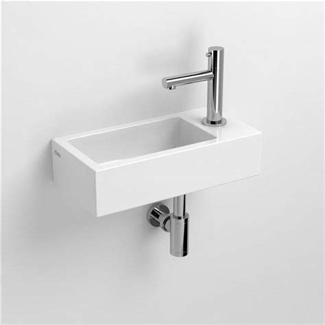 wc fontein smal clou flush lave mains finition c 233 ramique blanche