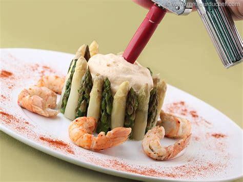 chartreuse cuisine chartreuse aux 2 asperges et espuma de langoustines