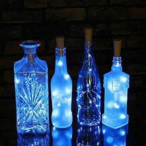 Flasche Mit Lichterkette : wein flasche kork lichterkette surlight 20 leds flasche lights lichterkette f r geburtstag ~ Frokenaadalensverden.com Haus und Dekorationen