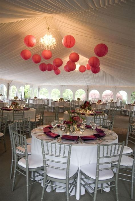 Hot Pink And Grey Wedding Reception Hot Pink Wedding